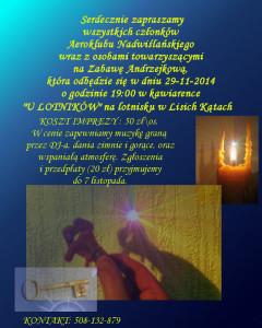 zaproszenie_andrzejki_2014